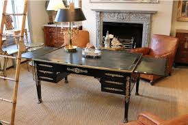 desk terrific double sided desk dual sided office desk 19th century french ebonised double sided