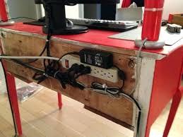 ikea computer desk cable management best computer desk cable management bench desk with cable management cable management
