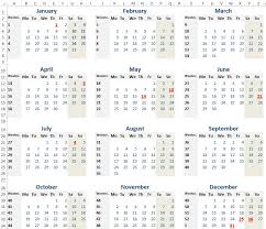 2015 Calendar Template Template Guide