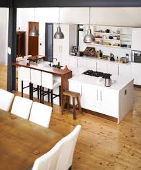 Wood Floors For Kitchens 32 Spectacular White Kitchens With Honey And Light Wood Floors