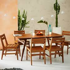 outdoor furniture west elm. Extremely Creative Mid Century Outdoor Furniture Dining Sets Auburn West Elm