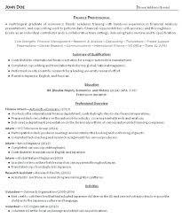 Recent Graduate Resume Example Resume Web