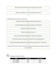 Ph Meter Calibration Calibration Of Ph Meter
