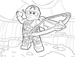 Lego Ninjago Groene Ninja Kleurplaat Tropicalweather