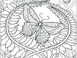 Butterfly Coloring Pages Adults And Flower Printable New 0 Of With