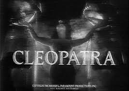Resultado de imagem para cleopatra movie 1934