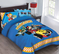 disney mickey mouse sd roadster licensed twin comforter set set w fitted sheet