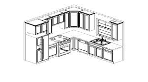 basic kitchen design layouts. Basic Kitchen Design Layouts With Nifty U Shaped Layout Concept
