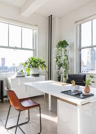 chic office space. Inside Alala\u0027s Minimalistic Office Renovation: Chic Desk Space