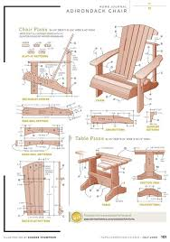 adirondack chairs plans templates. Modren Chairs Free Diy Adirondack Chair Plans Build Adirondak With Intended  For For Chairs Templates I