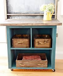 Diy Rolling Kitchen Island 15 Gorgeous Diy Kitchen Islands For Every Budget