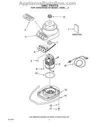 kitchenaid replacement parts. part diagram kitchenaid replacement parts