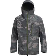 Burton Ak Gore Tex Cyclic Jacket Wormwood Camo 2019 30 At