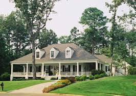 house plans with wrap around porches. Image Of: Single Story Farm Style House Plans With Wrap Around Porch Porches