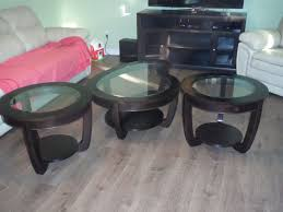coffee table and two matching end tables coffee tables brantford kijiji
