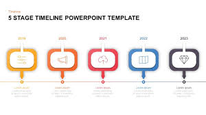 Timeline Templates For Powerpoint 5 Level Timeline Template For Powerpoint Keynote Slidebazaar