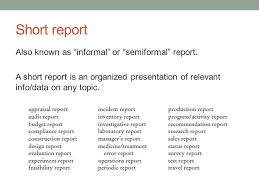 Technical Writing November 14 Th Today Short Reports