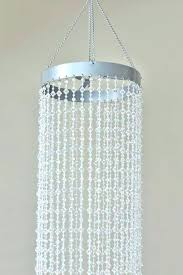 plug in crystal chandelier loes sag livg s and acrylic swag black white with accents plug in crystal chandelier