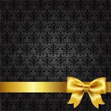 Black Damask Background Stock Vector Colourbox