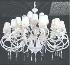 chandeliers large white crystal chandelier large white modern pertaining to large contemporary white crystal
