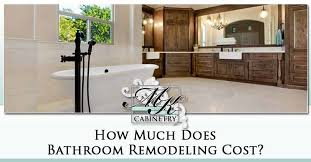how much does bathroom remodeling cost