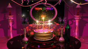 Magical Cake Animated Happy Birthday Song Gif By Deebrhm At Deebrhm