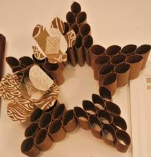 Get Creative Craft Ideas with Toilet Paper Rolls : Toilet Paper Roll Wall  Art Paper Crafts