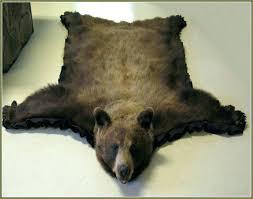 animal skin rugs fake animal rug faux bear skin rug with head fake animal fur rugs