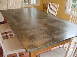 image result for galvanized countertop