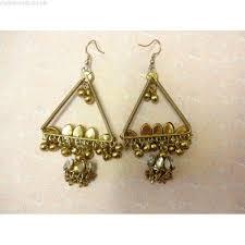 vintage chandelier earrings statement earrings tassel earrings bollywood earrings large dangle earrings large tassel earrings