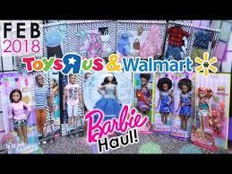 Barbie Vending Machine Walmart Impressive VLOG Barbie Doll Haul February 48 Toys R Us Walmart YouTube