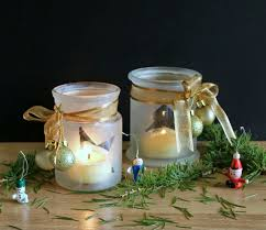 How To Decorate Candle Jars 100 Cutest DIY Christmas Mason Jar Decorations Shelterness 26