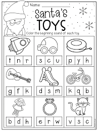 We have a bunch of phonics worksheets to choose from. Christmas Beginning Sound Worksheet For Kindergarten Students Color Th Christmas Kindergarten Christmas Worksheets Kindergarten Preschool Christmas Worksheets