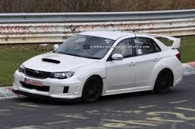 Spied: Subaru WRX STI Spec C Spotted Testing on the Nürburgring ...