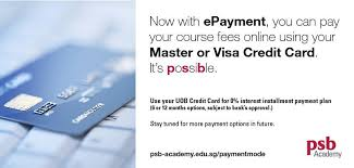 Allowing your customers to pay with credit cards can what types of businesses can accept credit card payments? Psb Academy Now You Can Pay Your Course Fee Online With Epayment Using Your Master Or Visa Credit Card For Other Payment Options And Updates Please Visit Www Psb Academy Edu Sg Paymentmode Facebook