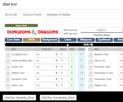 d and d online character sheet character sheets roll20 wiki