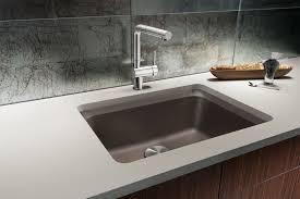 blanco 441369 cafe brown vision 24 silgranit granite composite undermount single bowl kitchen sink faucet com