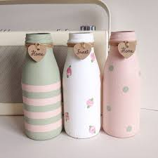 Decorative Milk Bottles 100 best MANUALIDADES images on Pinterest 6