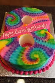 Tie Dye Birthday Cake Designs Tie Dye Birthday Surprise 125milestones
