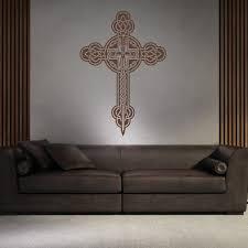 celtic cross wall stickers celtic wall art