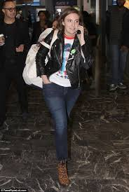 ready for action lena dunham is making sure to keep her life on track as