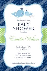 Baby Shower Invitations Template Whale Baby Shower Invitations Editable Download