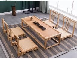 bamboo wood furniture. aliexpress buy 5pcsset modern bamboo furniture sets floor wood