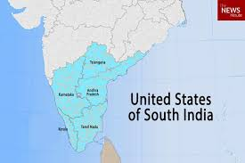 Population Chart Of Indian States United States Of South India Can A Southern Collective Get