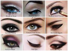 Eyeliner Chart Winged Eyeliner Chart Google Search Under Eye Makeup
