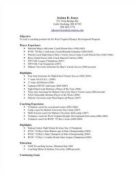 assistant soccer coach resume example sample best format sports template  life .