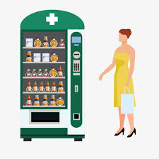 Vending Machine Medicine Extraordinary Cartoon Beauty And Medicine Vending Machines Cartoon Beauty