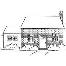 So, it is no wonder that they are houses are a very popular subject for coloring pages. Top 20 Free Printable House Coloring Pages Online