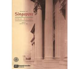 sal e out of print essays in singapore legal history softcover  picture of