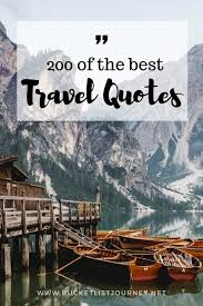 Explore Quotes Inspiration Best Travel Quotes 48 Sayings To Inspire You To Explore The World